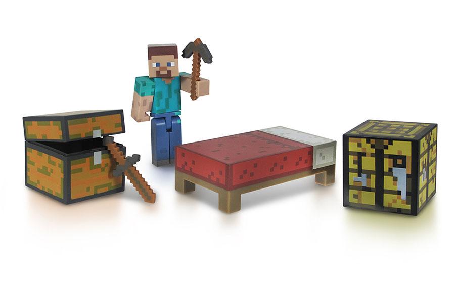 Игровой набор Minecraft Игрок Steve