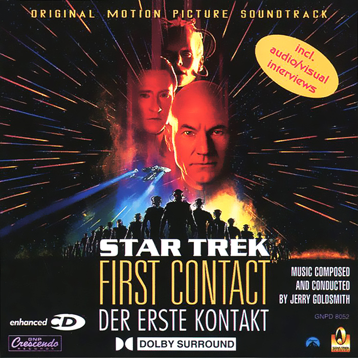 Star Trek: First Contact. Original Motion Picture Soundtrack