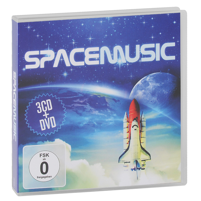 Robbie Miraux Space Music (3 CD + DVD)