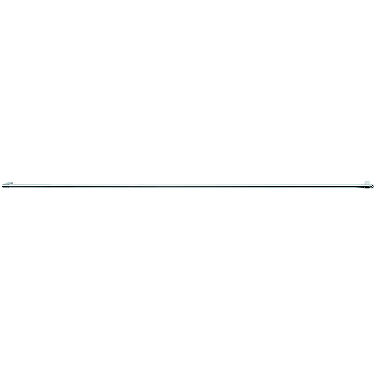 Рейлинг Esprado Platinos, с комплектом крепежа, 1 м. 0011610E2012251Рейлинг Platinos, выполненный из стали с никель-хромовым покрытием, прекрасно подойдет для ванной комнаты. Рейлинг можно использовать для развешивания полотенец, мочалок и других аксессуаров. Благодаря стильному современному дизайну рейлинг впишется в интерьер любой кухни или ванной комнаты. В комплекте: рейлинг, 2 заглушки, 2 держателя.