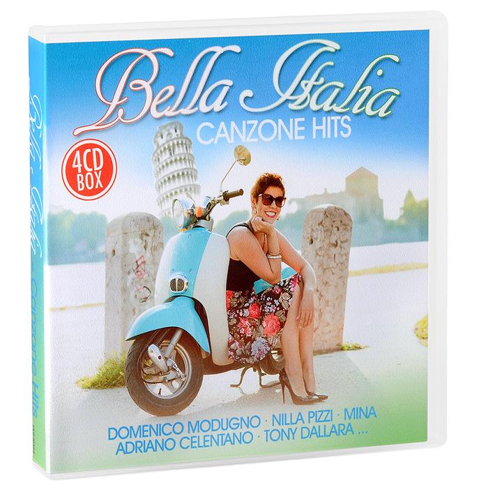 Bella Italia. Canzone Hits (4 CD)