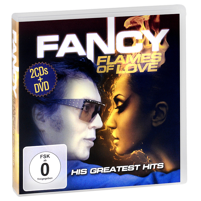 Fancy Fancy. Flames Of Love. His Greatest Hits (2 CD + DVD) элтон джон elton john greatest hits 1970 2002 2 cd