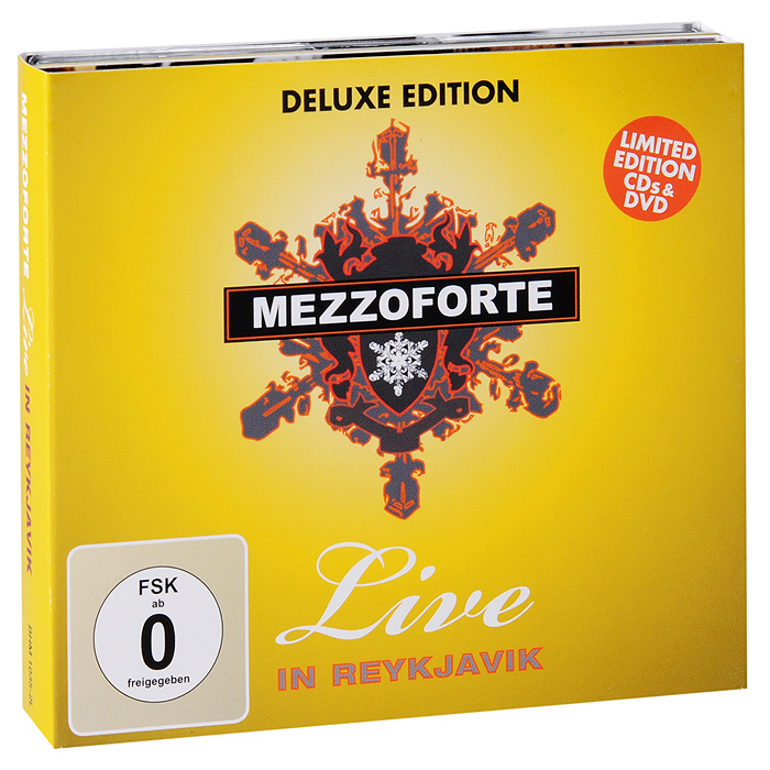 Mezzoforte Mezzoforte. Live In Reykjavik. Deluxe Edition (2 CD + DVD) джеймс блант james blunt all the lost souls deluxe edition cd dvd