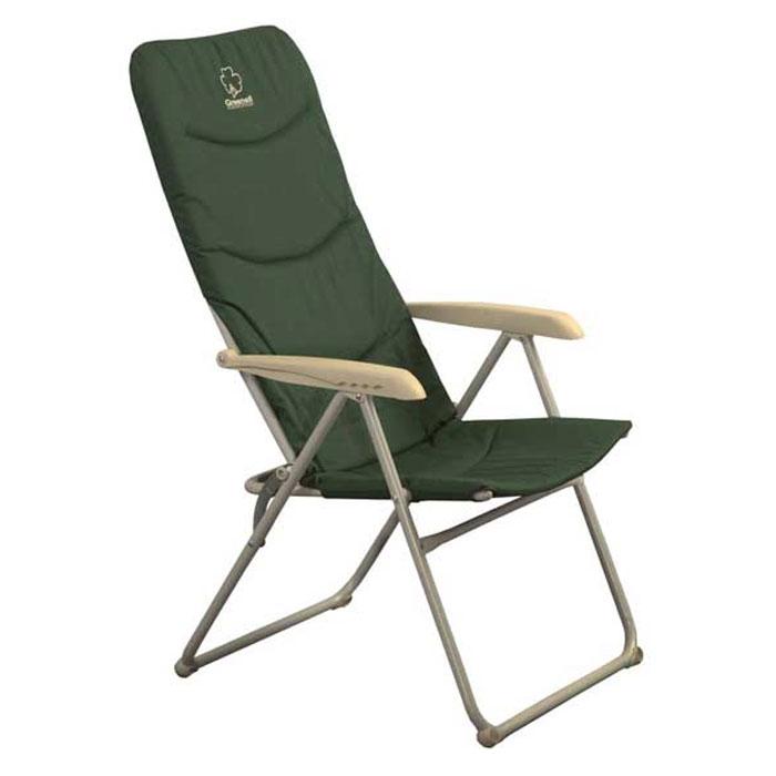 Кресло складное Greenell FC-9TA-570Складное кемпинговое кресло Greenell с мягким сиденьем и удобными подлокотниками станет незаменимым предметом в походе, на природе, на рыбалке, а также на даче.Кресло имеет прочный металлический каркас и покрытие из текстиля, оно легко собирается и разбирается и не занимает много места, поэтому подходит для транспортировки и хранения дома. Также кресло имеет регулировку наклона спинки. Сиденье и спина дополнительно утеплены пенкой. Размеры спинки кресла: 80 см х 50 см. Размеры сидушки: 38 см х 50 см.
