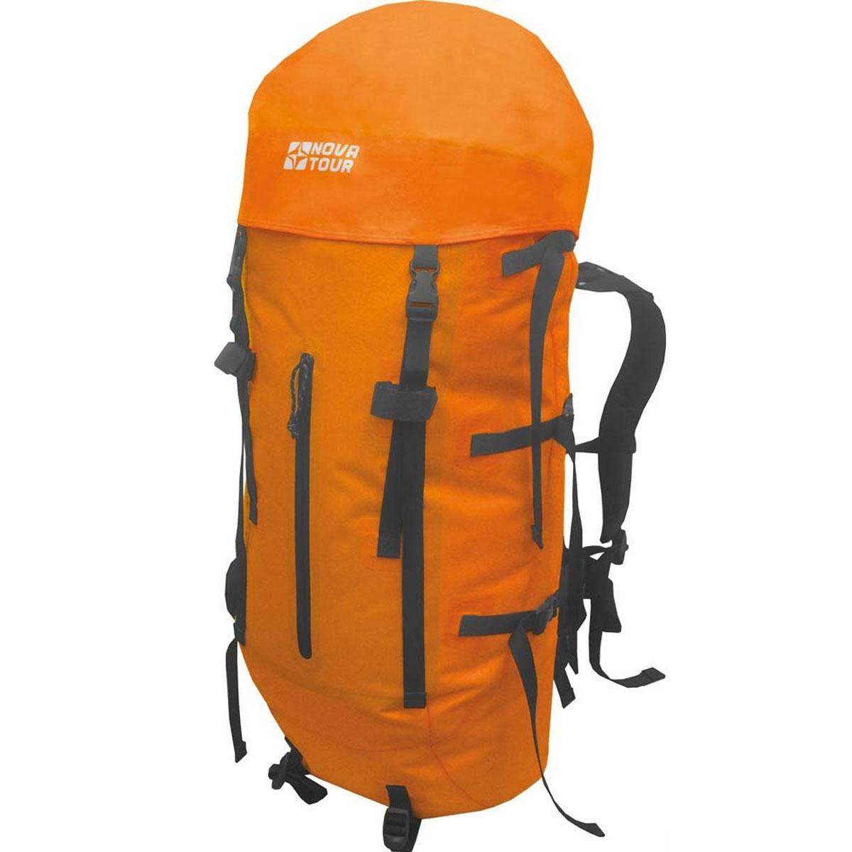 Рюкзак водонепроницаемый Nova Tour  Гидра 85 , цвет: оранжевый. 95145-207-00 - Туристические рюкзаки
