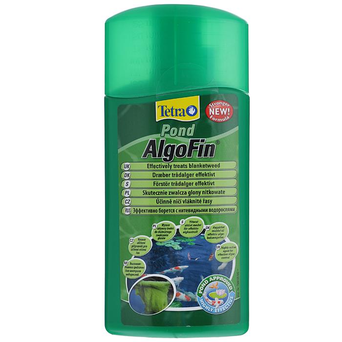 Средство Tetra Pond AlgoFin против нитчатых водорослей в пруду, 500 мл143784Tetra Pond AlgoFin - продукт, предназначенный для устранения нитчатых водорослей. Активно борется с нитевидными сине-зелеными водорослями, уничтожает все виды водорослей в пруду. Действие средства основано на блокировании метаболизма водорослей и их фотосинтеза. Активное вещество препарата действует 2-3 недели, предотвращая тем самым рост водорослей. Использование средства безопасно для полезной микрофлоры водной среды, не вредит растениям и рыбам.Условия хранения: от +5 С° до + 25 С°. Товар сертифицирован.