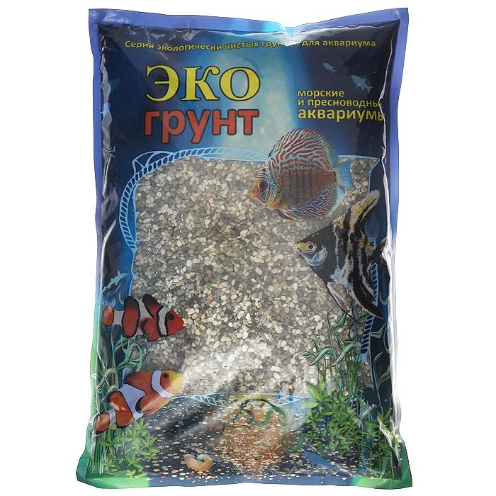 Галька реликтовая ЭКО грунт, для аквариумов, 2-5 мм, 3,5 кг0120710ЭКО грунт (произведено в России) - это широкий ассортимент природного натурального и цветного грунта. Каждая упаковка содержит тщательно промытый, просеянный и откалиброванный грунт. Экологически чистая краска, которая покрывает цветные грунты, безопасна для всех обитателей аквариумов и террариумов. Главными качествами этой краски являются ее яркость, устойчивость и безопасность для живых организмов. Разнообразие грунтов позволит Вам комбинировать фракции различных цветов и размеров, создавая при этом неповторимые декоративные композиции для украшения террариумов и аквариумов. Изготовлен из экологически чистого сырья, откалиброван, промыт и подвергнут термической обработке. Область применения - морские и пресноводные аквариумы, палюдариумы, террариумы. На каждой упаковке, помимо веса, указан калибр фракций.