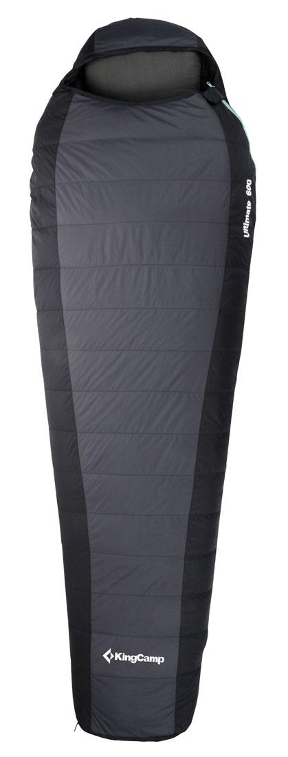 Спальный мешок KingCamp Compact 1200 KS3175, левосторонняя молния, цвет: серыйSPIRIT ED 1050Легкий и компактный спальный мешок KingCamp Compact 1200 - стильный и удобный синтетический спальник-кокон с подголовником. Вдобавок еще имеется внутренний карман и термоворотник. Трапециевидная форма спальника экономит место и более плотно облегает тело.Внешняя водонепроницаемая ткань из нейлона Ripstop 210T и подкладка из поликоттона 240Т делают спальник износоустойчивым и легким. Наполнитель Micro Loft помогает спальнику прекрасно сохранять свою форму и легко восстанавливать объем после стирки и смятия.