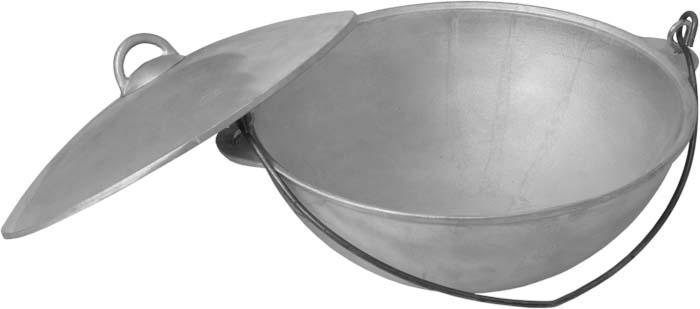 Казан Boyscout, алюминиевый с крышкой, 6 л391602Казан Boyscout, изготовленный из литого алюминия, идеально подходит для приготовления разнообразных блюд на открытом воздухе. Казан - замечательная посуда для приготовления восточного плова, овощей, риса, тушеной баранины, лагмана, в казане делают голубцы и фаршированные перцы, жаркое, мясо с овощами, хаш, чанахи.Казан снабжен короткими литыми ручками, на которые крепиться ручка-дужка, и крышкой, которая плотно прилегает к краю казана, надолго сохраняя аромат блюд.