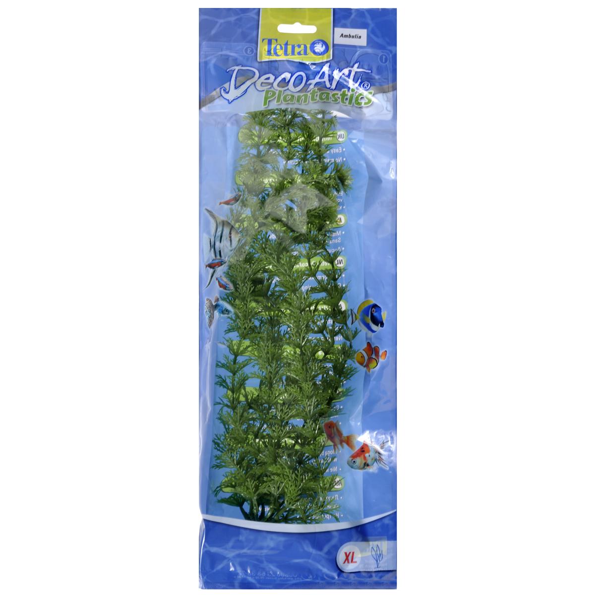 Искусственное растение для аквариума Tetra Амбулия XL0120710Это растение хорошо подойдет для оформления аквариума.Естественно выглядящее искусственное растение;Для использования в любых аквариумах;Создает отличное место для укрытия (в т.ч. для метания икры);Легко и быстро устанавливается, является абсолютно безопасным;Не требует ухода;Долгое время не теряет форму и окраску. Высота растения: 38 см.