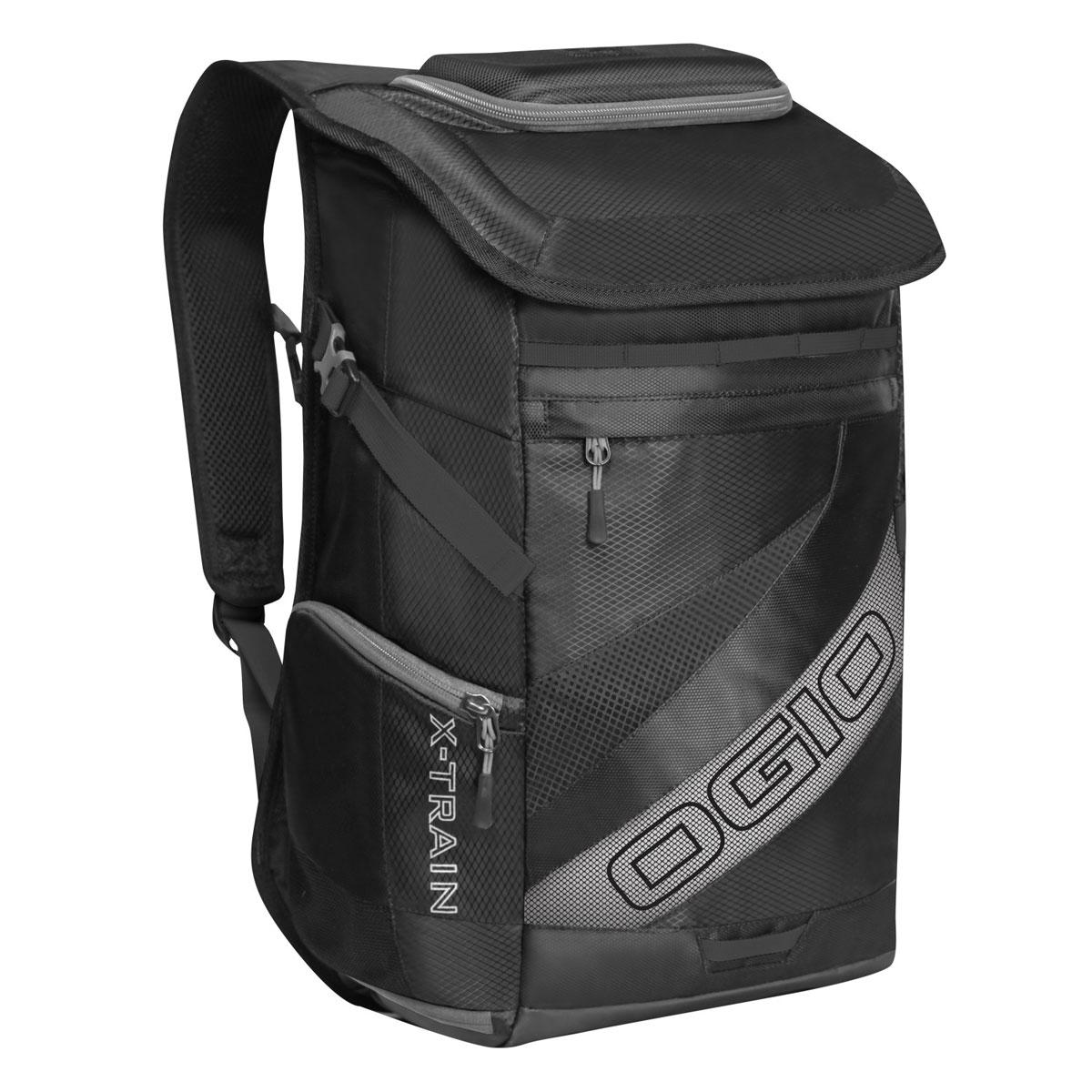 Рюкзак спортивный OGIO X-Train, цвет: черный, серый. 112039.030УТ-000055301Спортивный рюкзак OGIO X-Train - это отличный помощник в вашей жизни. Он отлично подойдет для занятия спортом, фитнессом, туризмом, и для повседневной носки. Особенности: Удароустойчивый армированный карман.Отстегиваемая внешняя лямка для крепления шлема.Боковые ремешки для крепления полотенец или ковриков.Специальный отдел для хранения сухой/мокрой одежды или обуви в режиме тренировки или для iPad в режиме обучения.Высокопрочные и легкие материалы.Перегородка отделяет основное отделение от отделения для мокрой/сухой одежды или обуви.Особое покрытие отделения для мокрой/сухой одежды или обуви облегчает чистку.Эргономичные, регулируемые плечевые лямки, подбитые мягким материалом.Устойчивая к трению брезентовая основа.Встроенный полноразмерный карман для бутылки.Регулируемый нагрудный ремень.Объем: 23 л.Материал: Кросс-добби 420D, гекс-рипстоп 210D.