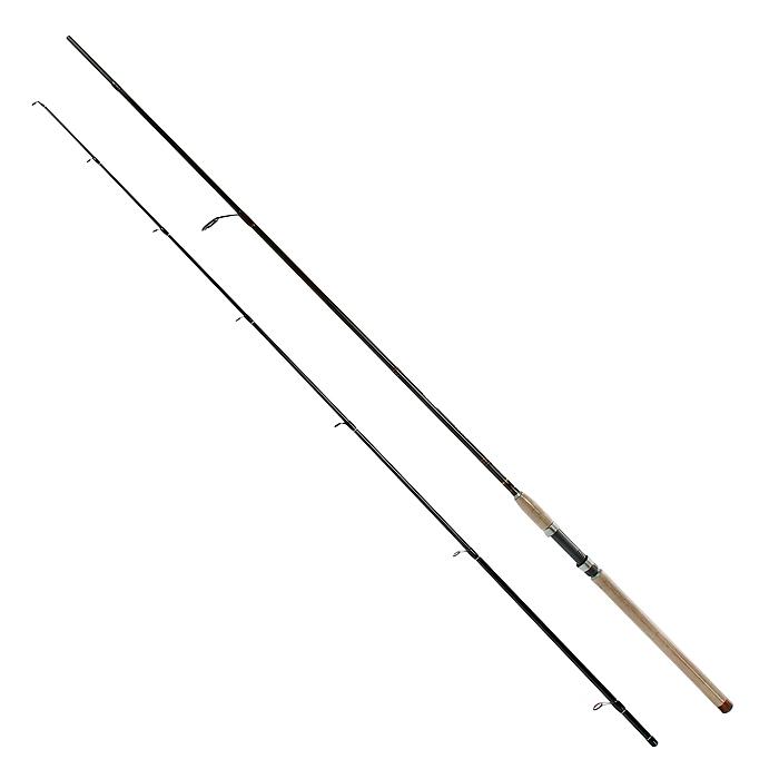 Удилище спиннинговое Daiwa New Exceler , штекерное, 2,4 м, 5-25 г38129Спиннинги этой серии созданы для ловли лососевых рыб в широком диапазоне длин и тестов. Средний строй успешно гасит сильные рывки рыбы и позволяет сделать дальний заброс. Оптимально работают с вращающимися и колеблющимися блеснами, воблерами при прямой проводке.Высокомодульный графит делает бланки невероятно легкими и идеально сбалансированными, с быстрой вершинкой и прочным бланком.
