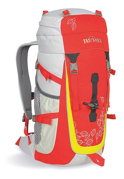 Детский спортивный рюкзак Tatonka Baloo, цвет: красный, белый, 22 л. 1807.01567742Настоящий треккинговый рюкзак для детей старше 10 лет. По оснащению Baloo ни в чем не уступает взрослым треккинговым рюкзакам. Система подвески и спинка с мягкой подкладкой специально разработаны с учетом детской анатомии.Особенности:Подвеска: Padded BackМатериал: Textreme 6.6; Cross Nylon 420HD; AirMeshМягкие лямкиБоковые стяжкиПетля для крепления палокНагрудный и поясной ремниБоковые карманыСветоотражающие вставки