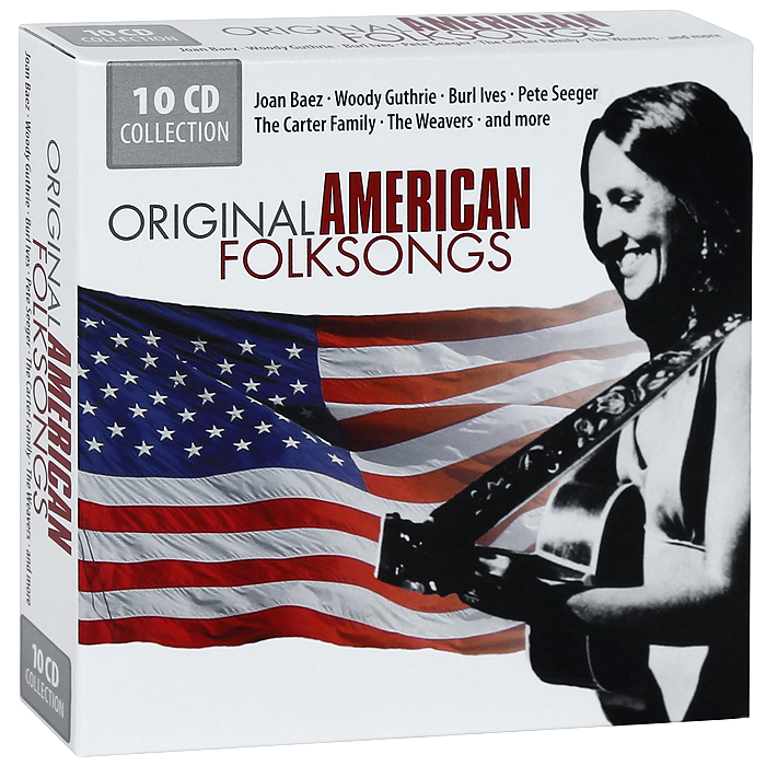 The Sons Of The Pioneers,Берл Айвс,Фрэнк Хатчисон,Джо Стаффорд Original American Folksongs (10 CD)