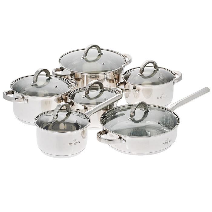 Набор посуды Bohmann, 12 предметов. 1256BH