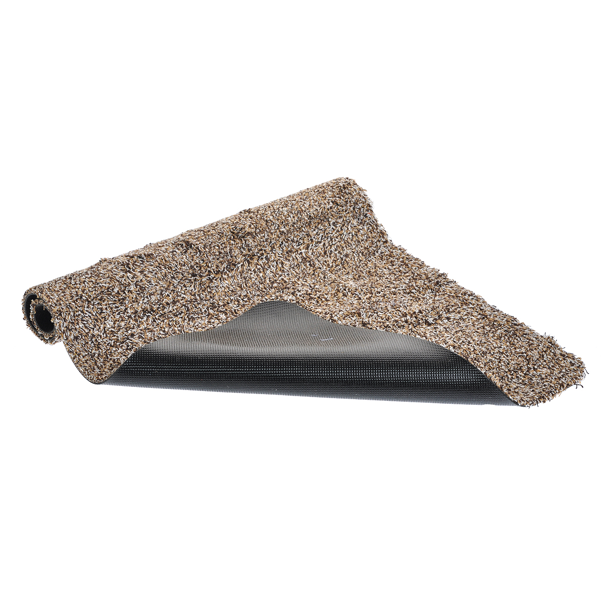 Коврик для прихожей Bradex Ни следа, 45 см х 70 см20736Коврик для прихожей Bradex Ни следа призван сохранить чистоту и уют в вашем доме. Он обладает крупным и высоким ворсом из микрофибры, который впитывает влажную грязь и задерживает пыль. Постелив такой коврик перед входной дверью, вы избавите себя от постоянной уборки пола. Также коврик можно поместить в ванной комнате, ведь нескользящая резиновая основа делает его подходящим для любого напольного покрытия. Если коврик загрязнится, то вы сможете очистить его при помощи стиральной машины, благодаря чему он прослужит гораздо дольше, чем обычный коврик.