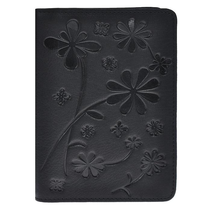 Бумажник водителя Askent Astra, цвет: черный. BV.50.SLДА-18/2+Н550Бумажник водителя Askent Astra выполнен из натуральной кожи с декоративным цветочным тиснением. Имеет внутри два кармана из кожи, отделение для купюр, семь прорезных карманов для кредитных карт и внутренний блок из прозрачного пластика (6 карманов).Такой бумажник станет отличным подарком для человека, ценящего качественные и необычные вещи.
