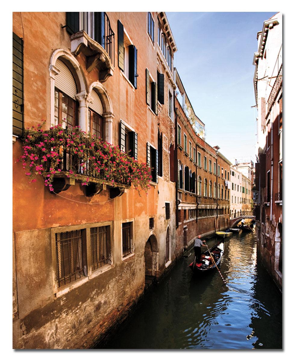 Канвас Idea Венецианская улица, 40 х 50 см853066Канвас - это ткань с художественной фотопечатью, натянутая на деревянный каркас. Такое изделие - оригинальный декоративный элемент, способный преобразить любой интерьер. Картина оформлена красочным изображением венецианской улицы. С задней стороны имеется петелька для подвешивания к стене. Стильный, современный дизайн, а также яркие и насыщенные цвета сделают эту картину прекрасным дополнением интерьера комнаты.