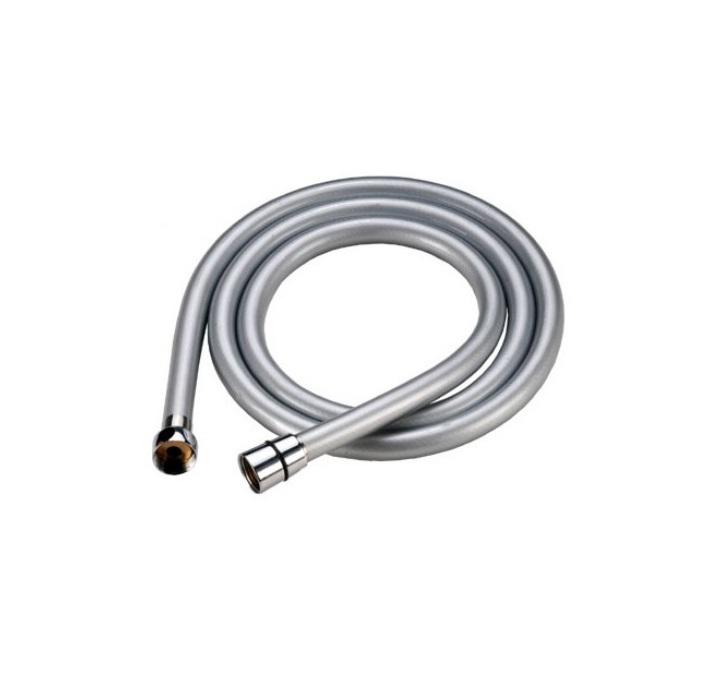 Шланг для душа Iddis, усиленный, длина 1,5 м. A5071115D5000Гибкий усиленный шланг Iddis выполнен из ПВХ. Стальная гильза препятствует расширению внутреннего диаметра шланга в месте его соединения со штуцером, предотвращая срыв шланга со штуцера.Система Twist-Free предотвращает перекручивание шланга, что позволяет комфортно принимать душ, а также продлевает срок службы изделия.Шланги комплектуются прокладкой с фильтром 100 мкм, который предотвращает засорение форсунок лейки. Толщина стенок шланга: 2,2 мм. Толщина стальной гильзы: 0,4 мм.Внешний диаметр шланга: 14 мм.Внутренний диаметр шланга: 8,5 мм.