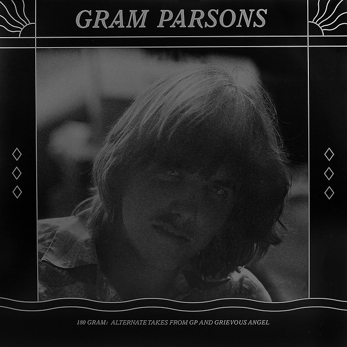 Грэм Парсонс Gram Parsons. Alternate Takes From GP And Grievous Angel (2 LP) dkny parsons ny2534