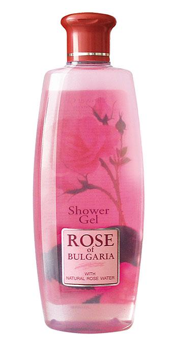 Rose of Bulgaria Гель для душа, 330 млFS-54114Нежный и деликатный душ-гель Rose of Bulgaria для ежедневной гигиены тела. Эффективно смывает загрязнения, не нарушая физиологический баланс кожи. Содержит уникальную болгарскую натуральную розовую воду с большим содержанием эфирного розового масла, обладающим отличными антибактериальными свойствами. Гель не раздражает и не сушит кожу, создает длительное чувство чистоты и комфорта. Трудно отказать себе в удовольствии принять душ, используя гель с нежным ароматом лепестков розы. Благодаря эффекту натуральной розовой воды с большим содержанием эфирного розового масла и густой пены, гель деликатно очищает кожу, делая ее бархатистой и нежной, снимает усталость и стресс. Гель обеспечивает коже необходимое питание и увлажнение, оказывает противовоспалительное и антисептическое действие. Гель также создает длительное ощущение чистоты и комфорта. Товар сертифицирован.