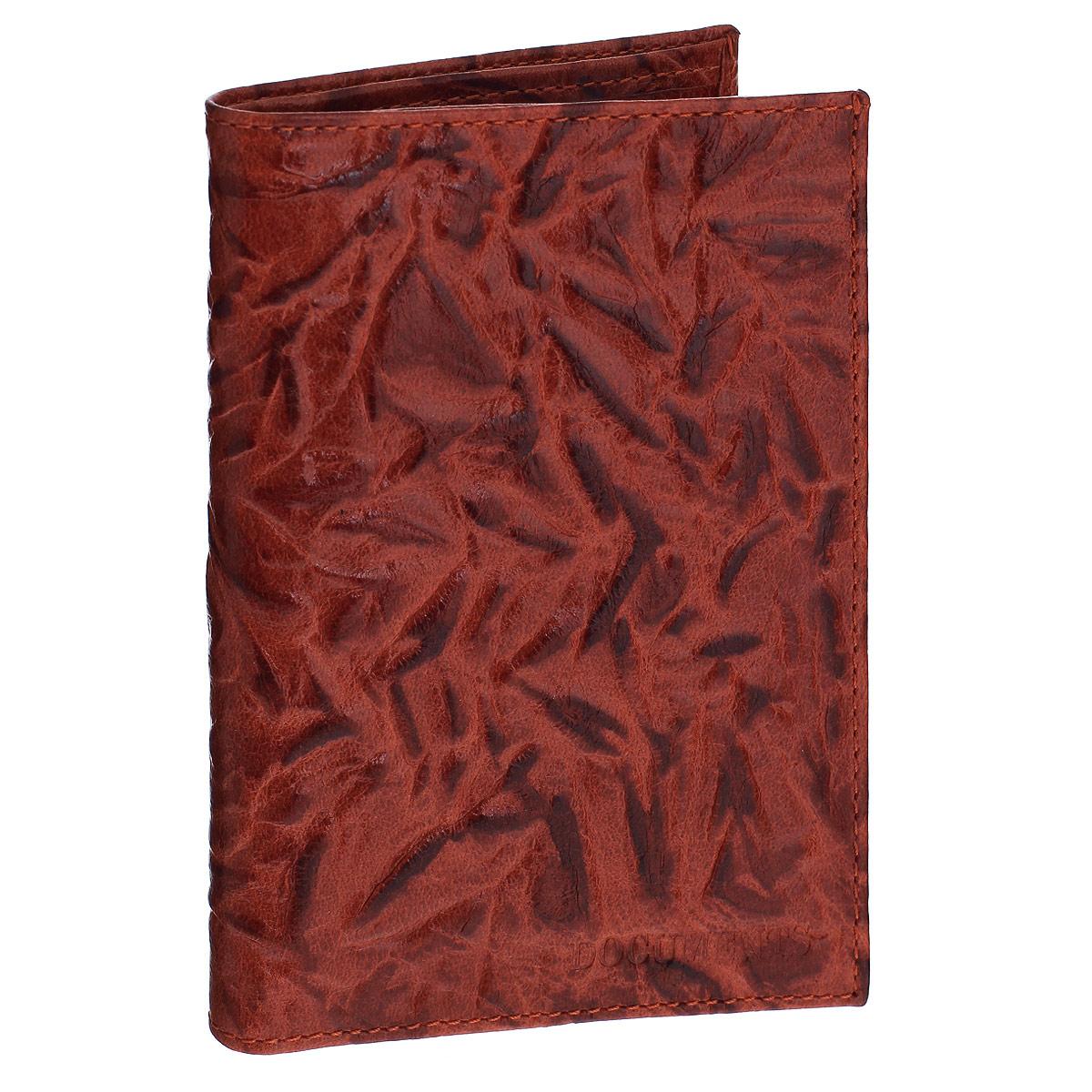 Бумажник водителя Askent Donna, цвет: коричнево-красный. BV.26.DNW16-11135_914Бумажник водителя Askent Donna выполнен из натуральной кожи с декоративным рельефным тиснением. Имеет внутри два кармана из кожи, отделение для купюр, семь прорезных карманов для кредитных карт и внутренний блок из прозрачного пластика (6 карманов).Такой бумажник станет отличным подарком для человека, ценящего качественные и необычные вещи.