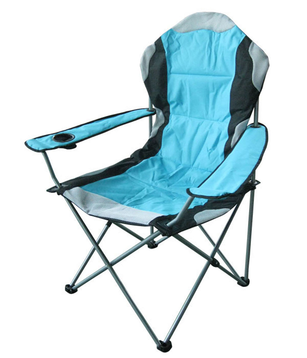 Кресло кемпинговое складное RekingCК-009Складное кемпинговое кресло Reking с широким сиденьем и мягкими подлокотниками станет незаменимым предметом в походе, на природе, на рыбалке, а также на даче.Кресло имеет прочный стальной каркас и покрытие из полиэстера, оно легко собирается и разбирается и не занимает много места, поэтому подходит для транспортировки и хранения дома.