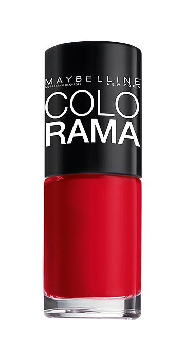 Maybelline New York Лак для ногтей Colorama, оттенок 150, Королевский пурпур, 7 мл28032022Самая широкая палитра оттенков новых лаков Колорама.Яркие модные цвета с подиума. Новая формула лака Колорама обеспечивает стойкое покрытие и создает еще более дерзкий, насыщенный цвет, который не тускнеет. Усовершенствованная кисточка для более удобного и ровного нанесения, современная упаковка. Лак для ногтей Колорама не содержит формальдегида, дибутилфталата и толуола.
