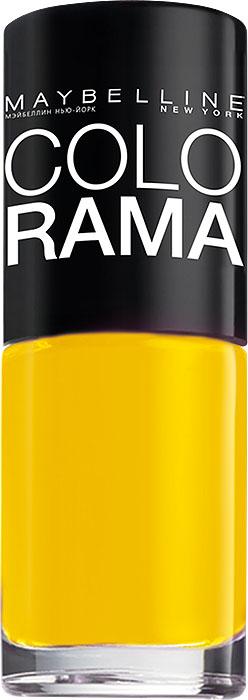 Maybelline New York Лак для ногтей Colorama, оттенок 749, Банана-шэйк, 7 млB2069803Самая широкая палитра оттенков новых лаков Колорама.Яркие модные цвета с подиума. Новая формула лака Колорама обеспечивает стойкое покрытие и создает еще более дерзкий, насыщенный цвет, который не тускнеет. Усовершенствованная кисточка для более удобного и ровного нанесения, современная упаковка. Лак для ногтей Колорама не содержит формальдегида, дибутилфталата и толуола.