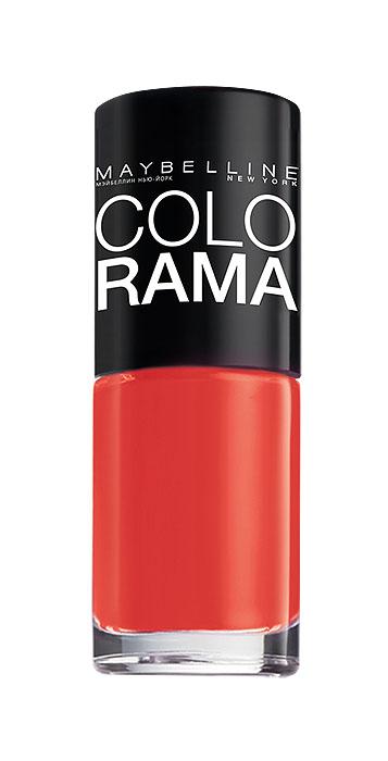 Maybelline New York Лак для ногтей Colorama, оттенок 352, Закат в Марокко, 7 млMFM-3101Самая широкая палитра оттенков новых лаков Колорама.Яркие модные цвета с подиума. Новая формула лака Колорама обеспечивает стойкое покрытие и создает еще более дерзкий, насыщенный цвет, который не тускнеет. Усовершенствованная кисточка для более удобного и ровного нанесения, современная упаковка. Лак для ногтей Колорама не содержит формальдегида, дибутилфталата и толуола.