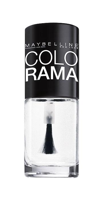 Maybelline New York Лак для ногтей Colorama, оттенок 440, Прозрачный, 7 мл1092018Самая широкая палитра оттенков новых лаков Колорама.Яркие модные цвета с подиума. Новая формула лака Колорама обеспечивает стойкое покрытие и создает еще более дерзкий, насыщенный цвет, который не тускнеет. Усовершенствованная кисточка для более удобного и ровного нанесения, современная упаковка. Лак для ногтей Колорама не содержит формальдегида, дибутилфталата и толуола.