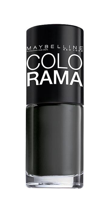 Maybelline New York Лак для ногтей Colorama, оттенок 290, Смелость серого, 7 млB2339803Самая широкая палитра оттенков новых лаков Колорама.Яркие модные цвета с подиума. Новая формула лака Колорама обеспечивает стойкое покрытие и создает еще более дерзкий, насыщенный цвет, который не тускнеет. Усовершенствованная кисточка для более удобного и ровного нанесения, современная упаковка. Лак для ногтей Колорама не содержит формальдегида, дибутилфталата и толуола.