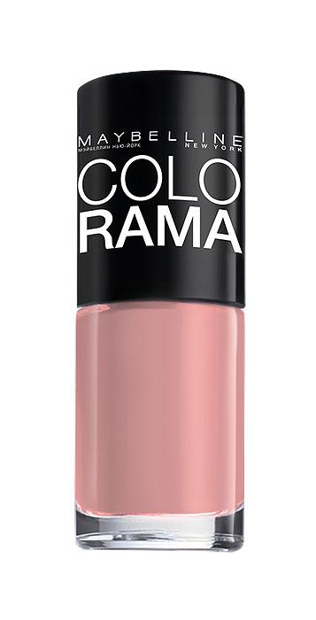 Maybelline New York Лак для ногтей Colorama, оттенок 301, Розовый бриллиант, 7 млWS2320NСамая широкая палитра оттенков новых лаков Колорама.Яркие модные цвета с подиума. Новая формула лака Колорама обеспечивает стойкое покрытие и создает еще более дерзкий, насыщенный цвет, который не тускнеет. Усовершенствованная кисточка для более удобного и ровного нанесения, современная упаковка. Лак для ногтей Колорама не содержит формальдегида, дибутилфталата и толуола.