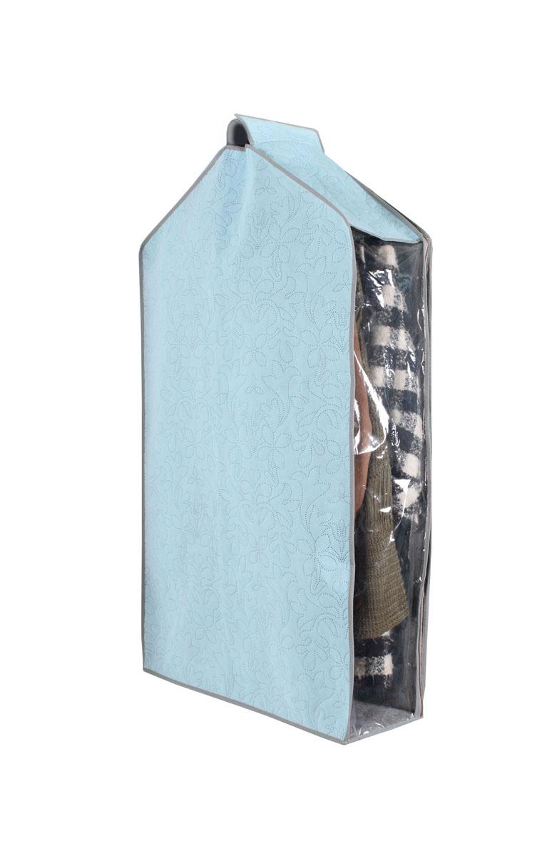 Чехол для одежды Hausmann, подвесной, 57 х 100 х 20 см4C-302Чехол для одежды Hausmann изготовлен из вискозы и оснащен застежкой-молнией. Особое строение полотна создает естественную вентиляцию: материал дышит и позволяет воздуху свободно проникать внутрь чехла, не пропуская пыль. Прозрачная полиэтиленовая вставка сбоку позволит вам видеть одежду, находящуюся в чехле. Верх чехла оснащен петелькой на липучке для подвешивания.Чехол для одежды будет очень полезен при транспортировке вещей на близкие и дальние расстояния, при длительном хранении сезонной одежды, а также при ежедневном хранении вещей из деликатных тканей. Чехол для одежды Hausmann защитит ваши вещи от повреждений, пыли, моли, влаги и загрязнений.