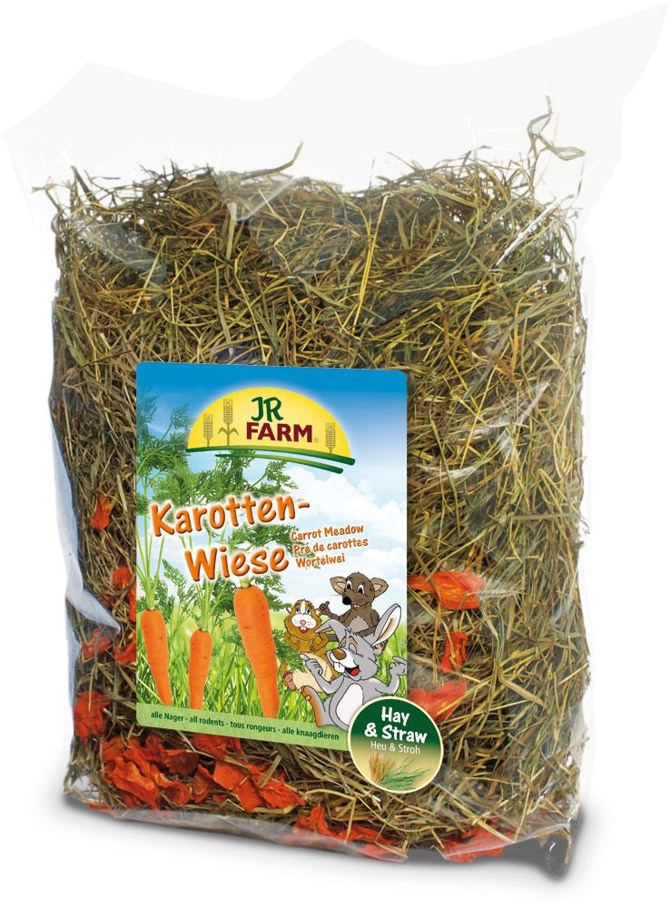 Сено для грызунов JR Farm, с морковью, 500 г0031Растительный корм для кроликов и других грызунов JR Farm изготовлен из нежно высушенных трав альпийского луга с очень высоким содержанием листьев. Сено обогащено злаковыми травами и добавлена морковь. Сено из натуральных трав - обязательный грубый корм в рационе карликовых кроликов и морских свинок, и оно должно быть всегда в свободном доступе и необходимом объеме для животного.Состав: сено, морковь 10%. Содержание: белок 12,1%, жиры 2,6%, клетчатка 23,0%, зола 7,2%.Товар сертифицирован.