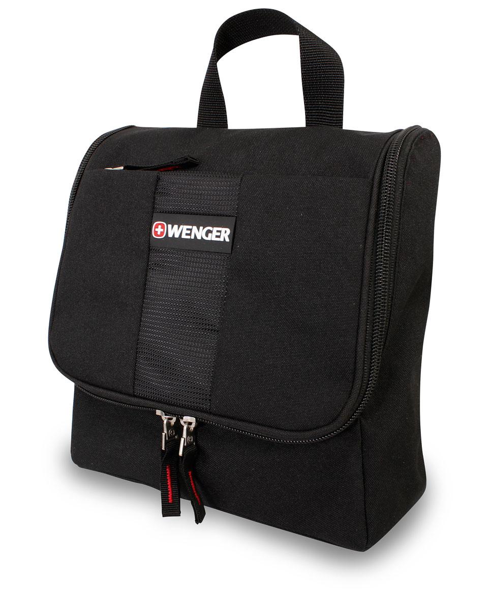 Дорожная сумка Wenger, цвет: черный, 4 л. 60851095936-911Дорожная сумка Wenger послужит вам незаменимым спутником в деловых поездках и кратковременных путешествиях. Обладая небольшими размерами, всегда будет под рукой. Данная модель выполнена из легкой, очень прочной ткани, которая быстро сохнет, великолепно сохраняет форму, устойчива к световому и тепловому воздействию и проста в уходе. Внутри косметички предусмотрены удобные карманы для туалетных принадлежностей. Сдержанный дизайн сумки подходит к любому гардеробу.Особенности:Основное отделение, разделитель с карманом на молнии;Карман из сетки на молнии;Карман из ткани на молнии;Два кармана из ткани на резинке;Два растягивающихся держателя (резинки) для мелких предметов;Крючок-подвеска.Три внешних кармана на молнии;Внешний карман на липучке. По всем вопросам гарантийного и постгарантийного обслуживания рюкзаков, чемоданов, спортивных и кожаных сумок, а также портмоне марок Wenger и SwissGear вы можете обратиться в сервис-центр, расположенный по адресу: г. Москва, Саввинская набережная, д.3. Тел: (495) 788-39-96, (499) 248-56-56, ежедневно с 9:00 до 21:00. Подробные условия гарантийного обслуживания приведены в гарантийном талоне, поставляемым в комплекте с каждым изделием. Бесплатный ремонт изделий производится при условии предоставления гарантийного талона и товарного/кассового чека, подтверждающего дату покупки.