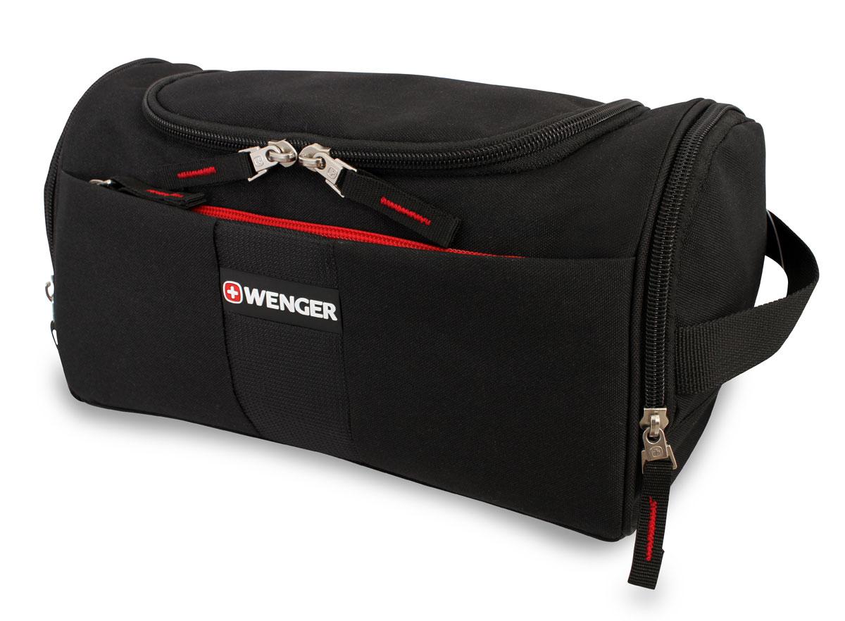 Несессер Wenger, цвет: черный, 27 см х 15 см х 15,5 см608509Компактная и легкая сумка послужит вам незаменимым спутником в деловых поездках и кратковременных путешествиях. Обладая небольшими размерами, всегда будет под рукой.Данная модель выполнена из легкой, очень прочной ткани, которая быстро сохнет, великолепно сохраняет форму, устойчива к световому и тепловому воздействию и проста в уходе.Внутри предусмотрены удобные карманы для туалетных принадлежностей. По всем вопросам гарантийного и постгарантийного обслуживания рюкзаков, чемоданов, спортивных и кожаных сумок, а также портмоне марок Wenger и SwissGear вы можете обратиться в сервис-центр, расположенный по адресу: г. Москва, Саввинская набережная, д.3. Тел: (495) 788-39-96, (499) 248-56-56, ежедневно с 9:00 до 21:00. Подробные условия гарантийного обслуживания приведены в гарантийном талоне, поставляемым в комплекте с каждым изделием. Бесплатный ремонт изделий производится при условии предоставления гарантийного талона и товарного/кассового чека, подтверждающего дату покупки.
