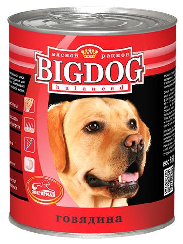 Консервы для собак Зоогурман Big Dog, с говядиной, 850 г0249Консервы для собак Зоогурман Big Dog изготовлены из натурального российского мясного сырья. Не содержат сои, искусственных красителей, ароматизаторов, генномодифицированных ингредиентов. Состав серии оптимально сбалансирован, идеально подходит для ежедневного кормления и поддержания иммунитета. Обеспечивает питомца необходимым запасом энергии для активной жизни. - Белки - для развития мышечной системы, - Ненасыщенные жирные кислоты - для здоровой кожи и блестящей шерсти, - Антиоксиданты - для укрепления иммунитета, - Клетчатка - для здорового пищеварения. Зоогурман - гарант качества для домашних животных.Состав: говядина, субпродукты, натуральная желирующая добавка, злаки (не более 2%), соль, вода.Пищевая ценность (в 100 г): протеин 8,0, жир 7,0, углеводы 4,0, клетчатка 1,0, зола 2,0, влага до 80%. Энергетическая ценность: 111 кКал.Вес: 850 г.Товар сертифицирован.