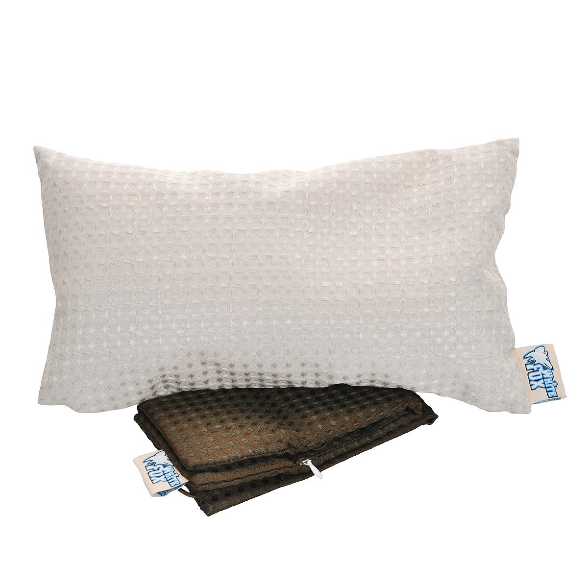 Подушка для ванны White Fox, цвет: бежевый, коричневый, 33 х 20 смWBPW48-120