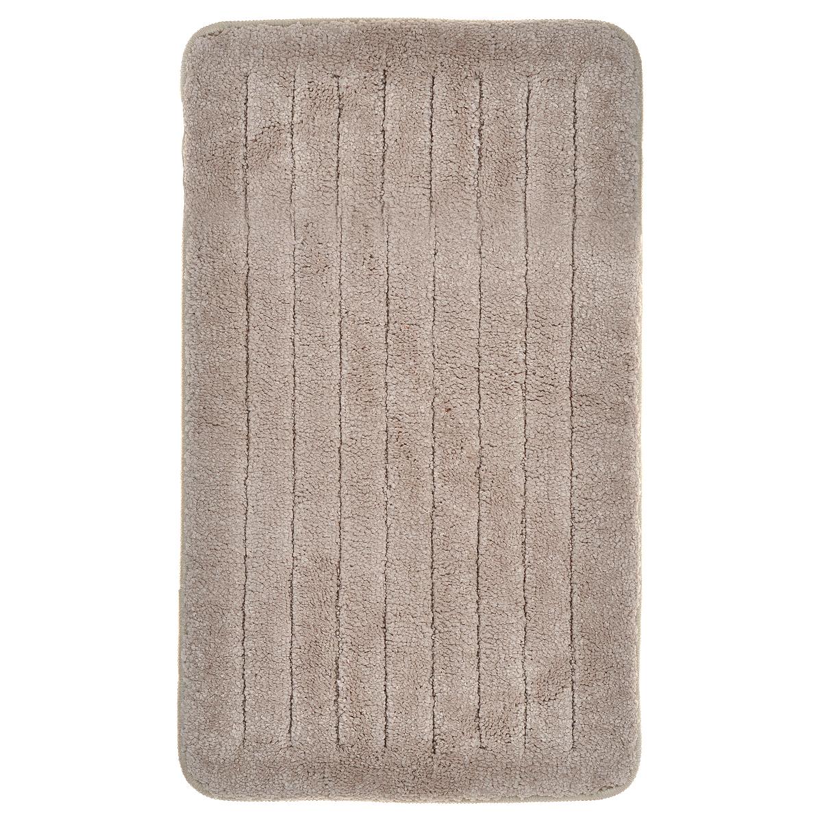 Коврик для ванной комнаты Milardo Street Way, 40 см х 70 см. MMI100MRG-D31SКоврик для ванной комнаты Milardo Street Way выполнен из микрофибры (100% полиэстер) - это особо мягкий материал, изготовленный из тончайших волокон. Коврик удивительно приятен и нежен на ощупь, обладает уникальными впитывающими свойствами. Он имеет латексную основу, благодаря которой он не скользит по полу. Края коврика обработаны оверлоком. Можно использовать на полу с подогревом.Коврик можно стирать в стиральной машине в щадящем режиме при температуре не выше 40°C отдельно от остального белья.