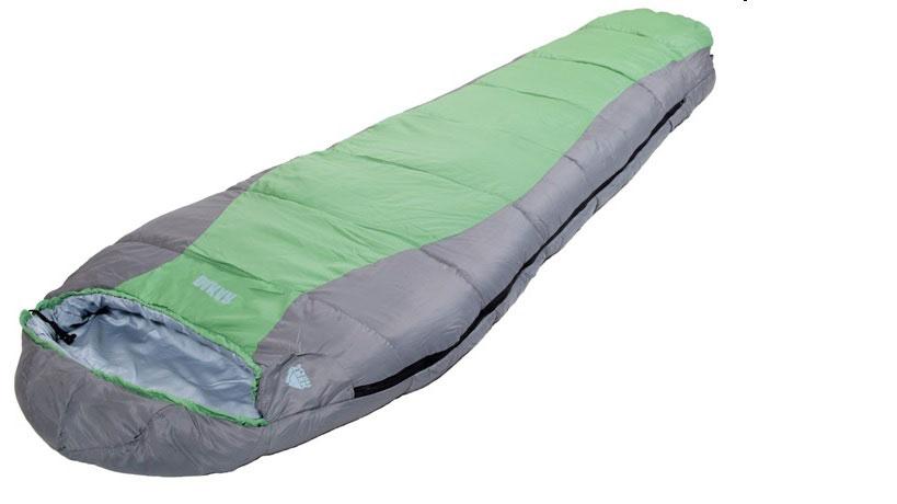 Спальный мешок-кокон Trek Planet Dakar, цвет: темно-серый, зеленый, левосторонняя молния010-01199-23Комфортный, легкий и удобный спальник-кокон Trek Planet Dakar предназначен в основном для летних походов и активного отдыха, но также может быть использован и более холодный весенне-осенний период. Его преимущества небольшой вес, удобная упаковка и практичность.Особенности спальника:Удобный глубокий анатомический капюшон,4-канальный наполнитель Hollow Fiber,Усиленный полиэстер RipStop,Двухсторонняя молния,Тепловой ворот,Термоклапан вдоль молнии,Внутренний карман,Возможно состегивание спальников между собой (левая и правая молнии).К спальнику прилагается чехол для удобного хранения и переноски. Характеристики:Размер спального мешка с учетом подголовника: 230 см х 85 см. Ширина в нижней части: 55 см. Утеплитель: Hollow Fiber 4H, 2x125 г/м2. Внешний материал: 100% полиэстер RipStop. Внутренний материал: 100% полиэстер. Экстремальная температура: -11°C. Температура комфорта: 2°C...6°С. Вес: 1,55 кг. Изготовитель:Китай. Размер в сложенном виде: 42 см х 22 см х 22 см. Артикул:70330.