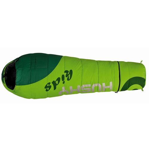 Спальный мешок Husky Husky Kids Magic, левосторонняя молния, цвет: зеленыйSPIRIT ED 1050Детский спальный мешок Husky Husky Kids Magic удлиняется на 30 сантиметров за счет специального съемного отделения.Детский спальный мешок навырост. Отстегиваемая нижняя часть может использоваться как дополнительное утепление для ног. Мешок содержит флисовую подкладку внутри капюшона, наружный и внутренний карманы, веселую расцветку, светоотражающие надписи, компрессионный мешок.Очень разумное решение для тех, кто не хочет носить лишний вес и объем и, собственно, покупать два спальника - сначала детский, а потом взрослый. Также это хороший вариант просто для людей небольшого роста.