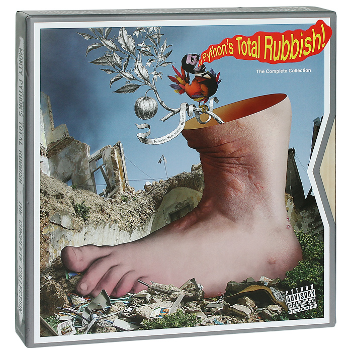 Monty Python Monty Python. Monty Python's Total Rubbish (9 CD + LP) partners lp cd