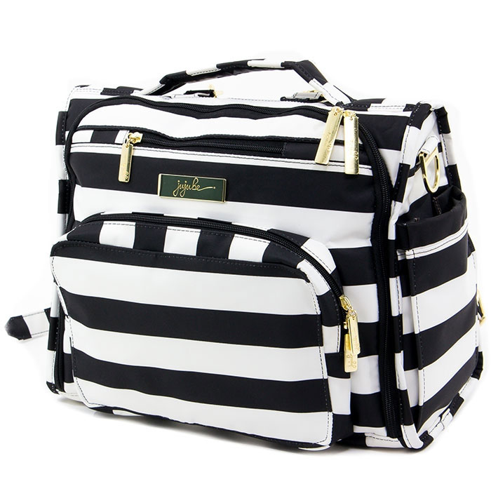 Ju-Ju-Be Сумка-рюкзак для мамы BFF The First Lady цвет черный белый ju ju be сумка рюкзак для мамы bff black beauty