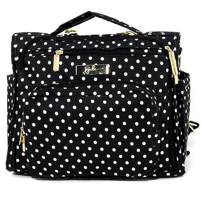 Ju-Ju-Be Сумка-рюкзак для мамы BFF The Dutchess цвет черный белый ju ju be сумка для мамы hobobe black petals
