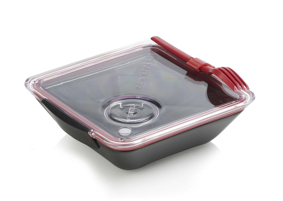 Ланч-бокс Black+Blum Box Appetit, цвет: черный, красный, 19 х 20 смВетерок-2 У_6 поддоновЛанч-бокс Black+Blum Box Appetit изготовлен из полипропилена и силикона. Изделие плотно закрывается на надежную вакуумную крышку с силиконовой прокладкой. Еда из отделений не перемешивается между собой.Практичный и удобный ланч-бокс Box Appetit займет достойное место среди посуды на вашей кухне. Можно мыть в посудомоечной машине и использовать в микроволновой печи.