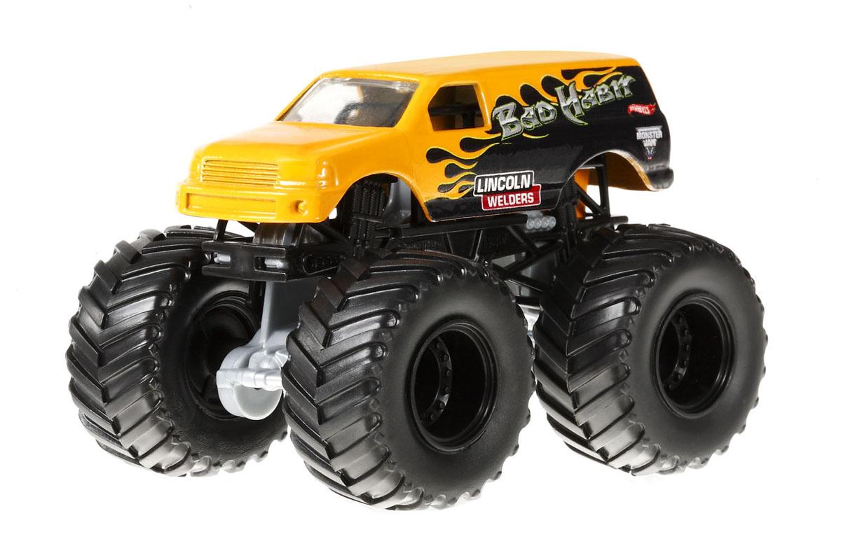 """Набор Hot Wheels """"Monster Jam. Езда по бездорожью"""" приведет в восторг вашего маленького любителя скорости и приключений. Езда по бездорожью на мощных внедорожниках Monster Jam - это абсолютно новый способ развлечений! Набор развивает творческие способности ребенка, т.к. позволяет формировать свое персональное уникальное бездорожье для любимых монстров-внедорожников! В набор входит внедорожник Monster Jam, состав для лепки, две машины для прыжков, формовка, бочки, флажки и другие предметы. По завершении гонок набор можно хранить в многоразовом контейнере."""