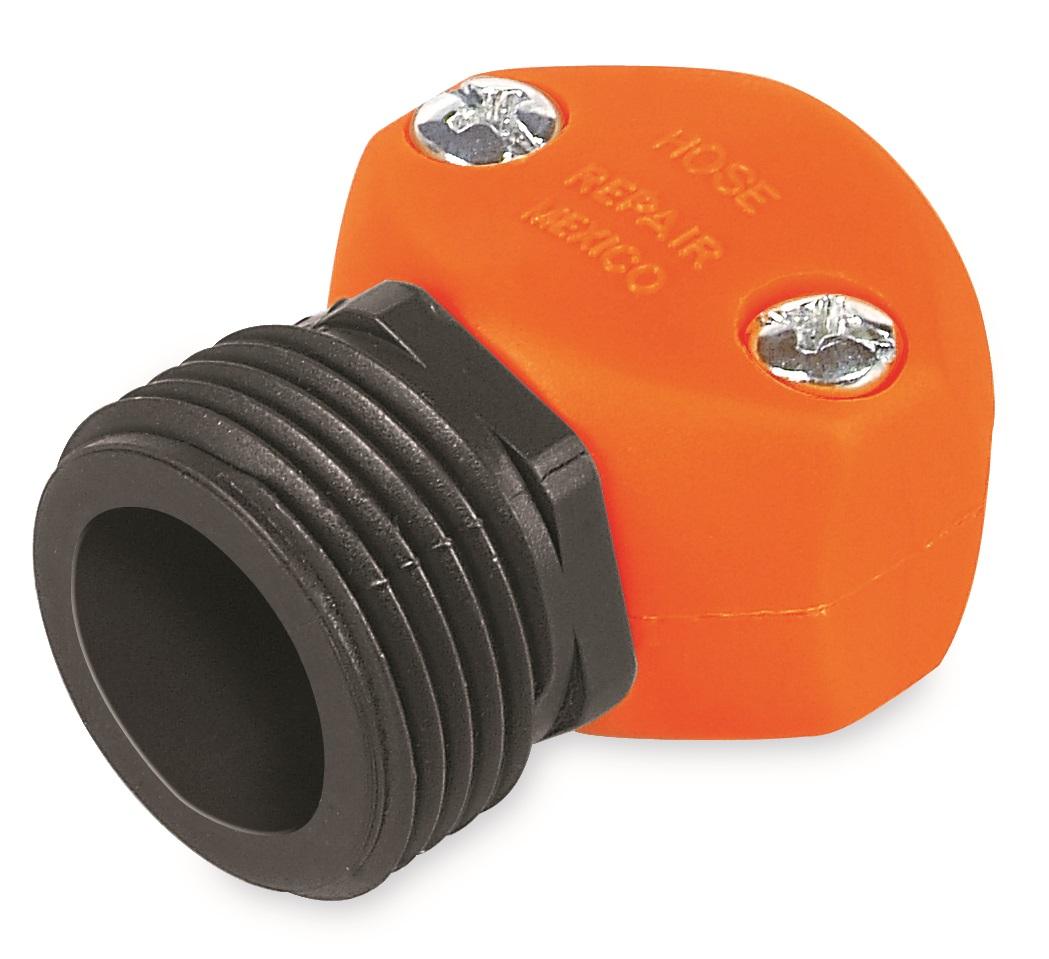 Коннектор ремонтный для шланга Truper, пластиковый, папа, 1/2106-026Шланговый коннектор Truper, выполненный из пластика, предназначен для быстрого и многократного присоединения и отсоединения шланга к насадкам или крану. Тип соединения папа.