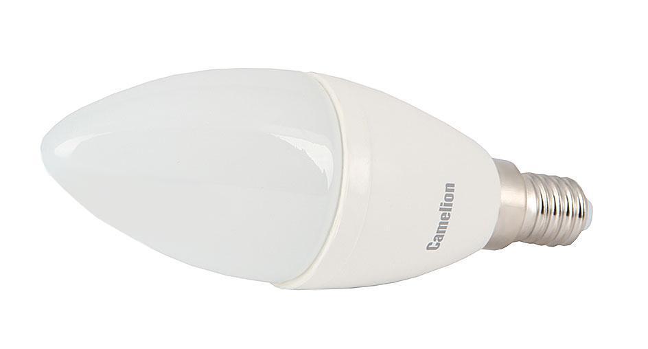 Camelion LED6.5-C35/830/E14 светодиодная лампа, 6,5ВтLED6.5-C35/830/E14Высокая вибро- и ударопрочность - отсутствуют нить накаливания и хрупкие стеклянные трубки. Широкий температурный диапазон эксплуатации (от -30 оC до +40 оC) - возможность использования ламп вне помещений. Могут применяться как для основного, так и для акцентированного освещения. Экономия электроэнергии до 90% без ущерба для освещенности и качества света по сравнению с обычными лампами накаливания такой же яркости. Мгновенное включение и выход на полную яркость.Светодиодные лампы для точечных светильников - это замена традиционных и повсеместно используемых галогенных ламп типа JCDR. Отличительной особенностью светодиодных ламп точечного света является низкое энергопотребление и почти отсутствие нагрева в процессе эксплуатации. При этом -это лампы с высоким сроком службы 30 000 - 50 000 часов.Если вы хотите экономить, и готовы на начальном этапе потратиться, тогда Ваш выбор светодиодное освещение.Если же по каким-то причинам светодиодные источники света Вас не устраивают, но при этом Вы хотите все же экономить - обратите внимание на энергосберегающие компактные люминесцентные лампы точечного света.
