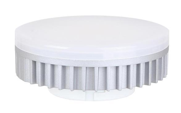 Camelion LED5-GX53/845/GX53 светодиодная лампа, 5ВтC0027362Светодиодная лампа Camelion 5W GX53 LED5-GX53/845 применяется для освещения жилых помещений, торговых залов и витрин. Более того, она не содержит ртути и не излучает инфракрасные и ультрафиолетовые лучи. Такие лампы очень компактные и удобные, это по-настоящему выгодное вложение в будущее. Для питания низковольтной СДЛ Camelion дополнительно требуется понижающий трансформатор (рекомендуется использовать источник постоянного напряжения 12VDC или блок питания для светодиодных устройств).